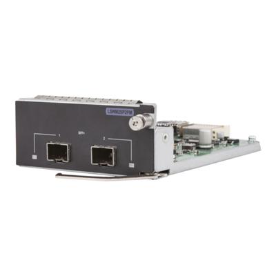 Hewlett packard enterprise netwerk switch module: 5130/5510 10GbE SFP+ 2-port Module