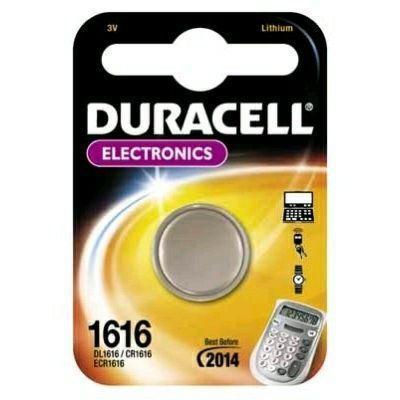 Duracell batterij: 1616 - Roestvrijstaal