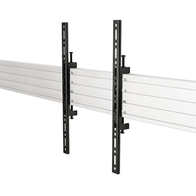 B-Tech System X Universal Interface Arms - VESA 400 Muur & plafond bevestigings accessoire - Zwart