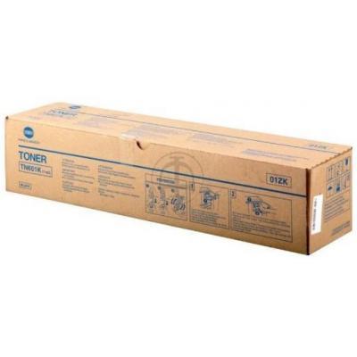 Konica Minolta (TN-601 K / 01ZK) - original - black - 43.000 Pages Toner - Zwart