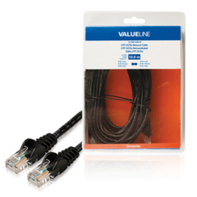 Valueline 10m CAT5e RJ-45 m/m Netwerkkabel