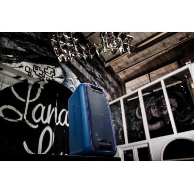 Sony home stereo set: Krachtig audiosysteem met Bluetooth voor thuis - Blauw, Lila