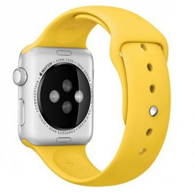 Apple : Sportbandje, Geel, 42 mm