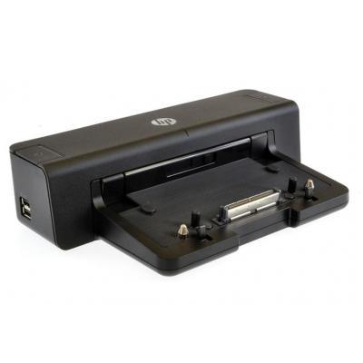 2-power docking station: 90W, 4x USB 3.0, DisplayPort, DVI-D, VGA, LAN, Serial, Parallel, 2x PS/2, 2x 3.5mm - Zwart