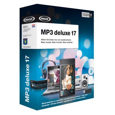 Magix audio software: Magix, MP3 Deluxe 17  RB
