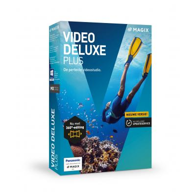 Magix grafische software: Magix, Video Deluxe Plus
