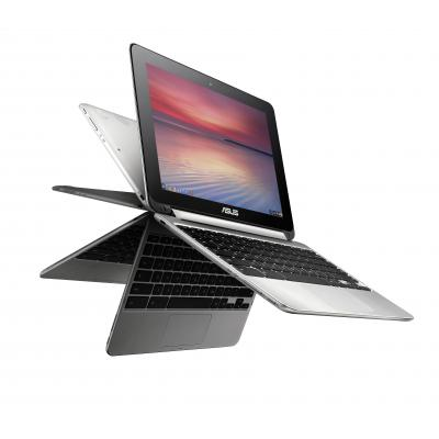 Asus laptop: Chromebook C101PA-FS002 - Zilver
