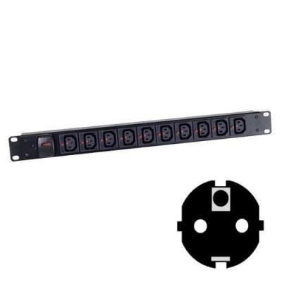 Black Box BBIEC10HCLKSCH Energiedistributie-eenheden (PDU's)