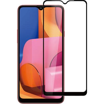 ESTUFF Samsung Galaxy A20s Screen protector - Zwart,Transparant