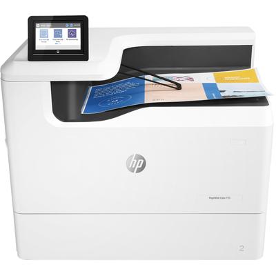 Hp inkjet printer: PageWide Color 755dn - Zwart, Wit