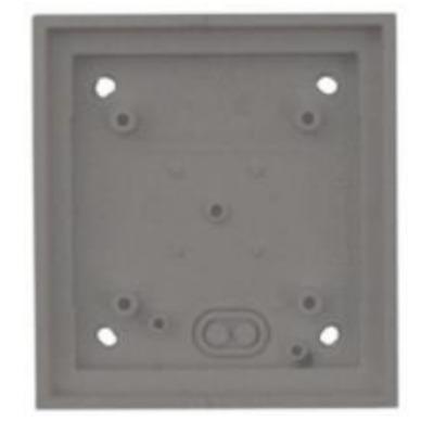 Mobotix T24M\Single On-Wall mount Dark Grey Elektrische aansluitkast - Grijs