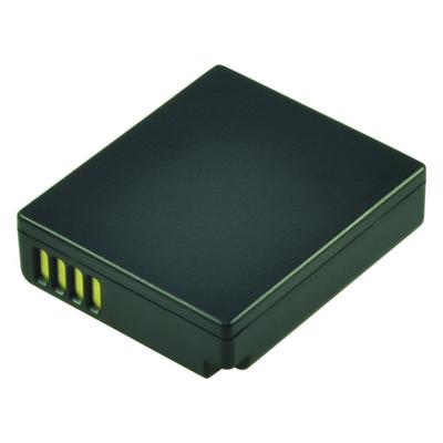 2-Power Digital Camera Battery 7.2V 650mAh - Zwart