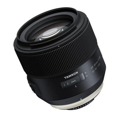 Tamron camera lens: SP 85mm F/1.8 Di VC USD f/ Nikon - Zwart