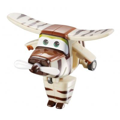 Alpha animation & toys toy vehicle: Super Wings Speelfiguren Transform-A-Bots! Bello - Bruin, Wit