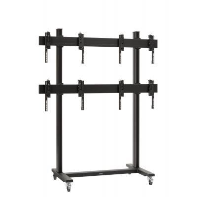 Vogel's SET TVW 2255, 2x2 video wall trolley 46/55, max 4x113 kg TV standaard