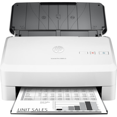 Hp scanner: Scanjet ScanJet Pro 3000 s3 scanner met sheetfeeder - Wit