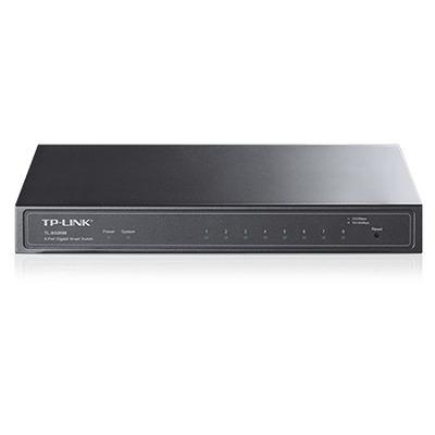 TP-LINK TL-SG2008 Switch - Zwart
