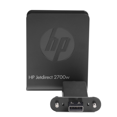 HP Jetdirect 2700w USB Wireless printserver Printer server - Zwart