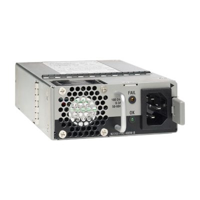 Cisco N2200-PAC-400W-B= Switchcompnent - Zwart