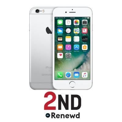 2nd by renewd smartphone: Apple iPhone 6S refurbished door 2ND - 64GB Zilver (Refurbished AN)