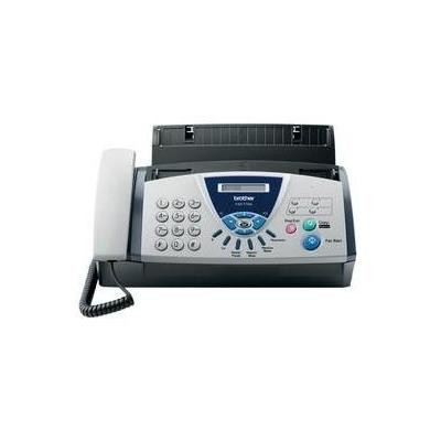 Brother faxmachine: FAX-T104 - 9.6Kbit/s, ECM, A4, 160W, 2.7kg