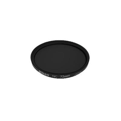 Nikon camera filter: 72mm NC-filter - Zwart