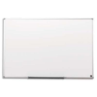 5star magnetisch bord: Whiteboard Drywipe Magnetic with Pen Tray and Aluminium Trim, (900 x 600mm)