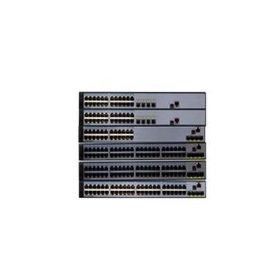 Huawei switch: S5700-28P-LI-AC - Zwart