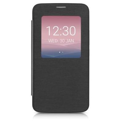 "Alcatel mobile phone case: Flip case for IDOL 3, 11.938 cm (4.7 "") , Grey - Grijs"