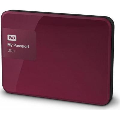 Western digital externe harde schijf: My Passport Ultra 1TB - Rood