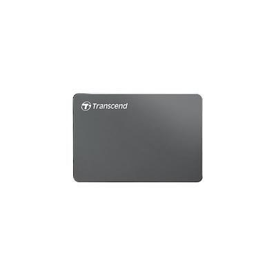 Transcend StoreJet 25C3 Externe harde schijf - Aluminium