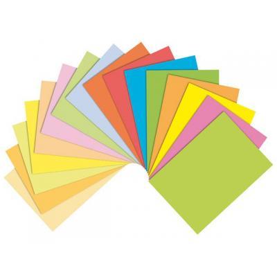 Staples papier: Papier SPLS A4 80g oranje/pak 500v