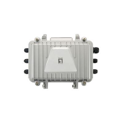 LevelOne PFE-1011R - 1 x PoE RJ-45, Fast Ethernet Netwerk verlenger - Zwart