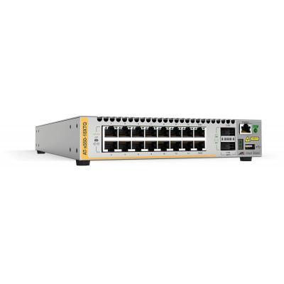 Allied Telesis AT-x550-18XTQ-50 Switch - Grijs