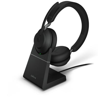 Jabra Evolve2 65, UC Stereo, USB-C Headset - Zwart
