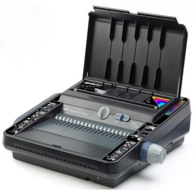 Gbc inbindmachine: MultiBind 230E Multifunctionele Pons- Bindmachine - Zwart