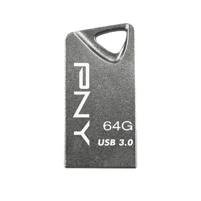 Pny USB flash drive: T3 Attaché 64GB - Grijs