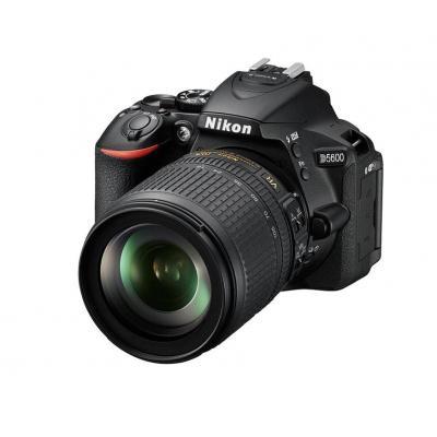 Nikon digitale camera: D5600 + AF-S DX 18-105mm G ED VR - Zwart