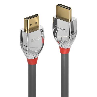 Lindy 37872 HDMI kabel - Grijs, Zilver