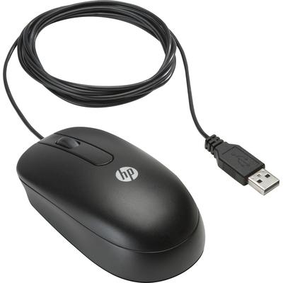 HP Essential USB-muis Muis - Zwart