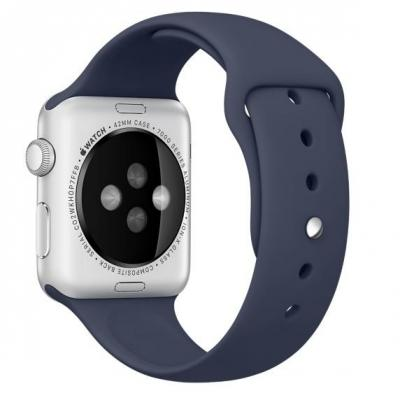 Apple : Sportbandje - Middernachtblauw (42 mm)