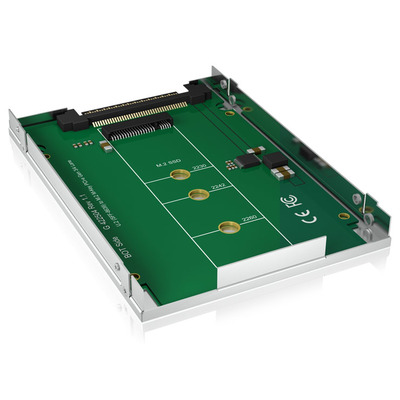 ICY BOX IB-M2U01 Interfaceadapter - Zilver