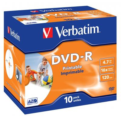 Verbatim DVD: DVD-R 4.7GB 16x