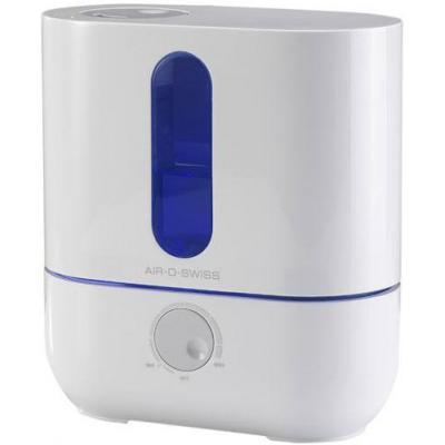 Boneco luchtbevochtiger: 3.5 L, 20 W, 300 g/h, 50m²/125m³, 25 dB(A), 100-240 V / 50-60 Hz, 1.8 kg - Blauw, Wit