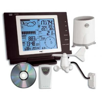 "Tfa weerstation: ""NEXUS"" wireless weather station - Zwart"