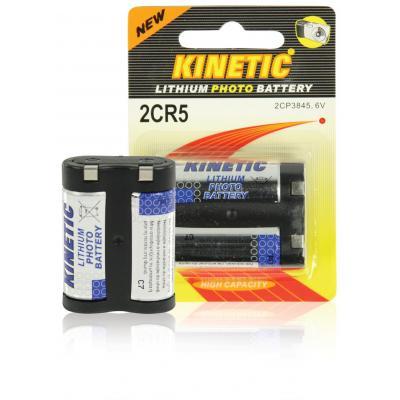 Kinetic Battery 2CR5 batterij