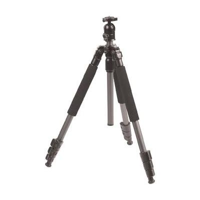 König tripod: Lichtgewicht statief voor foto en video camera 131.5 cm - Zwart