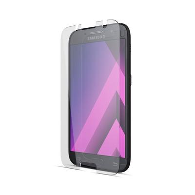 BeHello Samsung Galaxy A3 (2017) High Impact Glass Black Screen protector