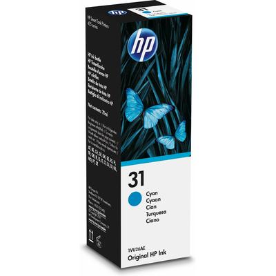 HP 31 70-ml Cyan Original Ink Bottle - Cyaan