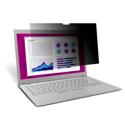 3M High Clarity Privacyfilter voor Microsoft Surface Laptop (HCNMS002) Schermfilter - Zwart, Doorschijnend